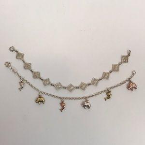 Pair of Sterling Silver Bracelets